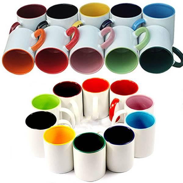 הדפסה על ספל צבעוני