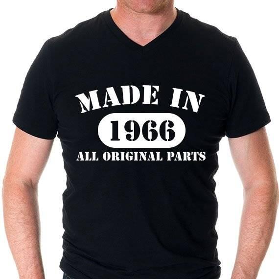 חולצה מודפסת לגבר ״original parts״