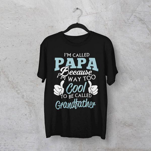 """חולצה מודפסת לגבר """"Im Called Papa"""""""