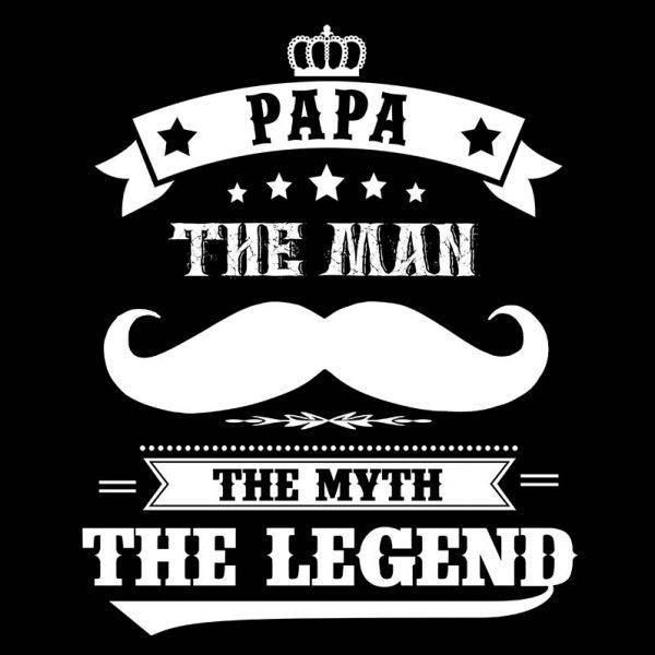 חולצה מודפסת לגבר ״The Legend״