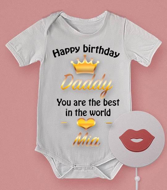 הדפסה על בגד תינוק