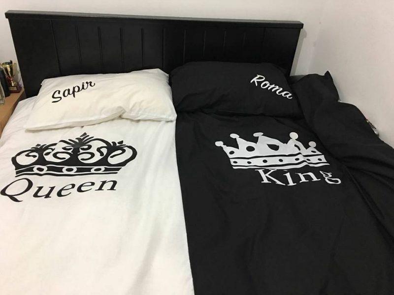 מצעים מלך ומלכה לזוג