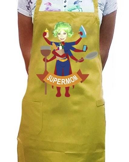 סינר Supermom
