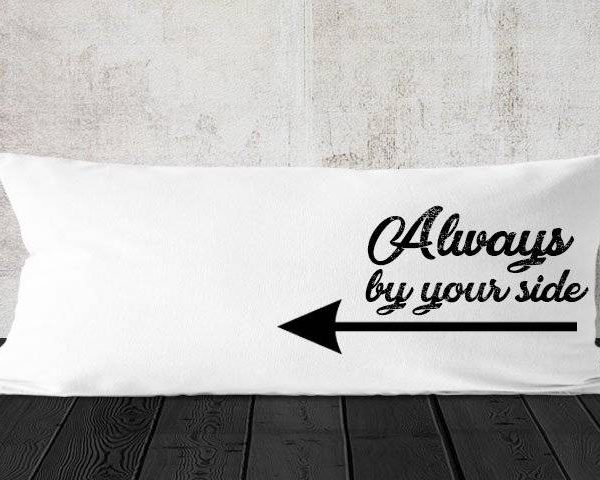 """כרית למיטה וחצי """"Always By Your Side"""""""