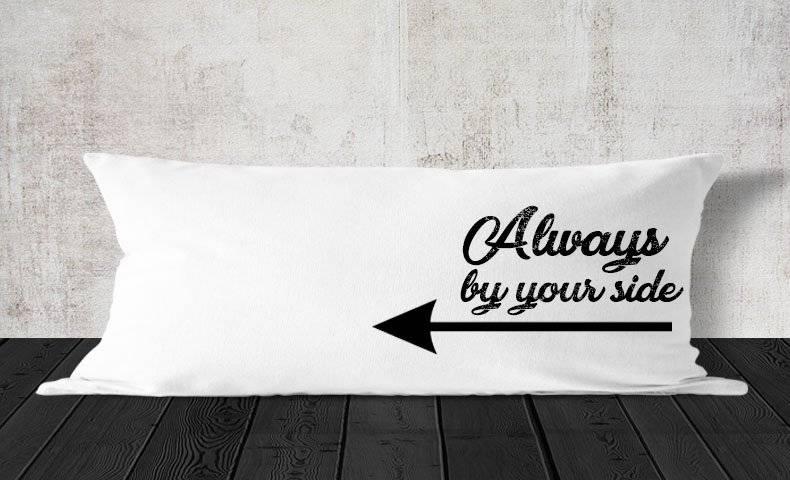 כרית למיטה וחצי עם הדפסה