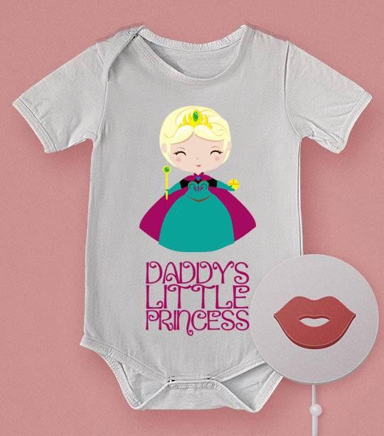 בגד תינוק משעשע הנסיכה של אמא