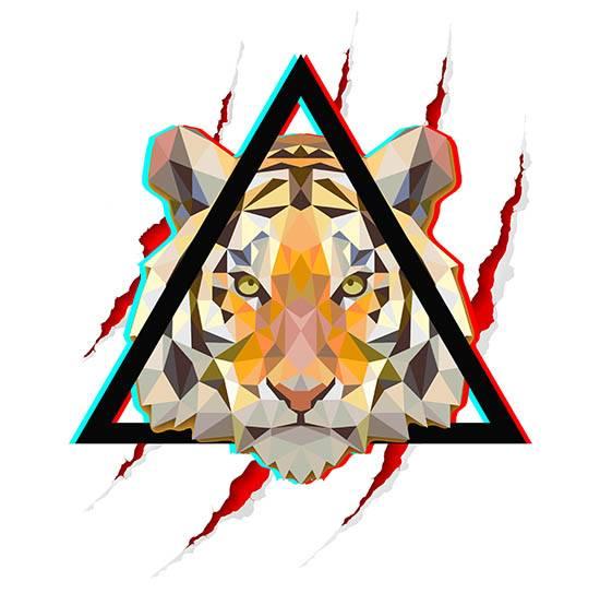 tigra חולצה מעוצבת