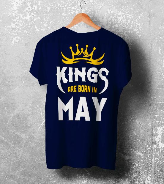 חולצה בעיצוב מיוחד מלכים
