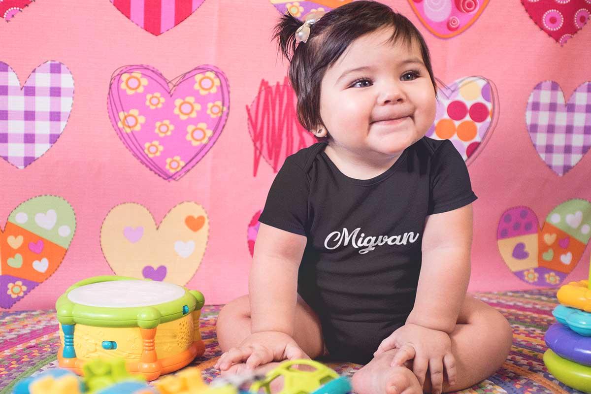 הדפסה על בגדי תינוקות