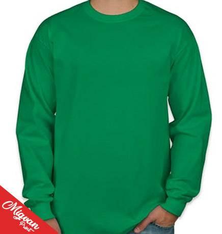 חולצות כותנה שרוול ארוך לגברים