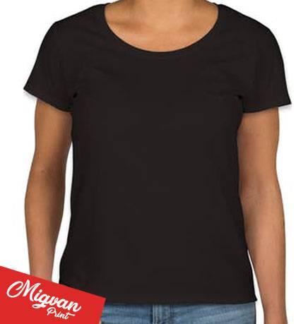 חולצה שחורה גזרת נשים
