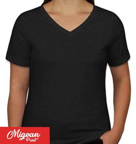 חולצת נשים שחורה