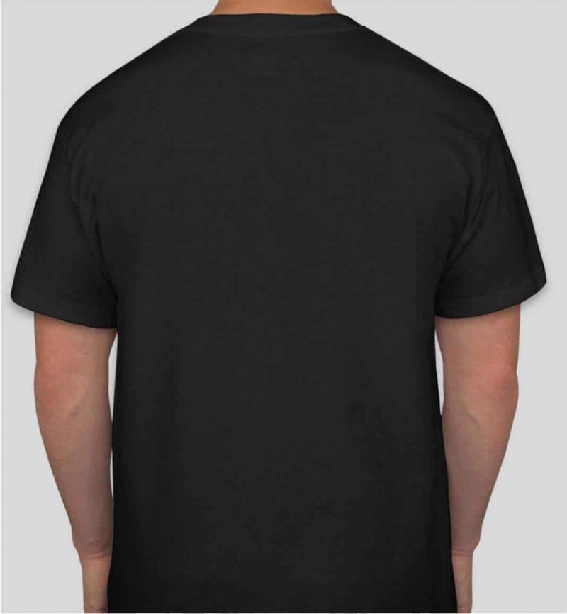 חולצה שחורה להדפסה