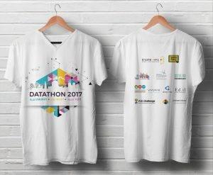 הפקת 600 חולצות לאירוע דטאטון