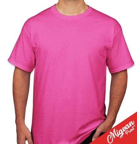 חולצות להדפסה ורוד פוקסיה