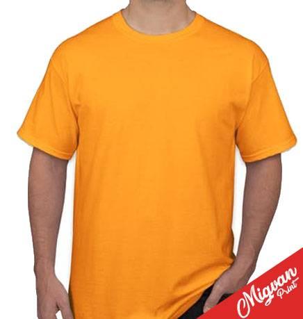 חולצה מודפסת כתומה
