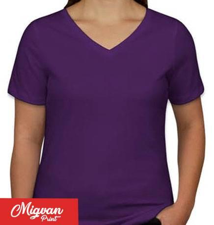חולצת נשים סגולה