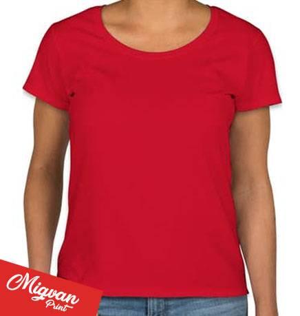 חולצה אדומה לנשים