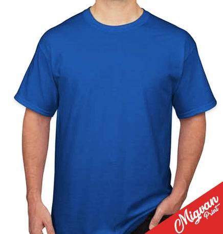 הדפסת חולצות כחול רויאל