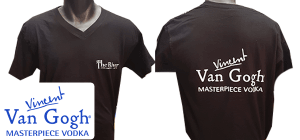 הדפסה על חולצות לחברת ואן גוך