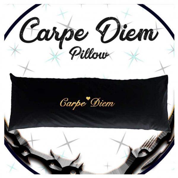 כרית למיטה זוגית Carpe Diem