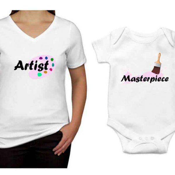 """סט לאמא ולתינוק """"Artist-Masterpiece"""""""