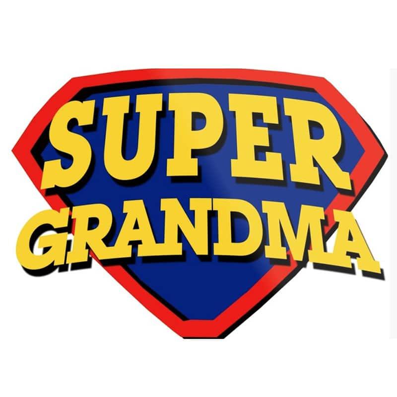 יום הולדת לסבתא חולצה מודפסת