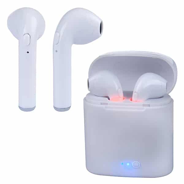 EarBuds IN-EAR i7-mini אוזניות Bluetooth אלחוטיות עם בית טעינה