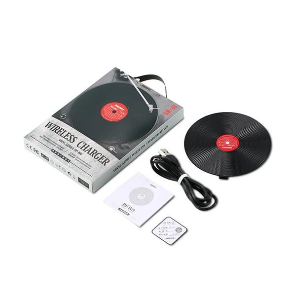מטען בצורת תקליט ויניל