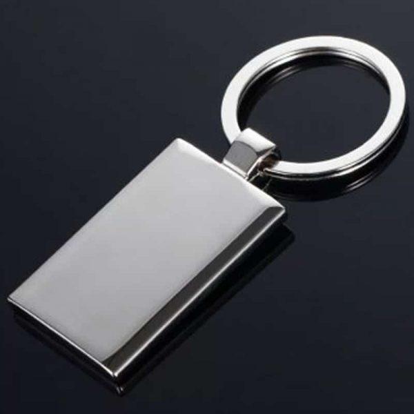 מחזיק מפתחות ממתכת עם תמונה