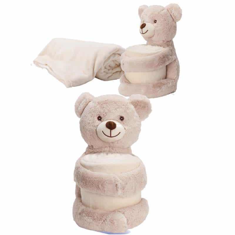 דובי עם כרבולית מודפסת