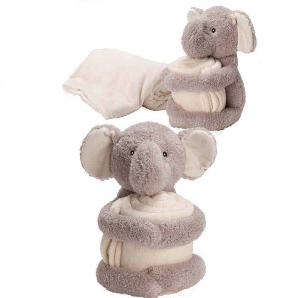 הדפסה על כרבולית עם דובי/פיל/כלב מחבק
