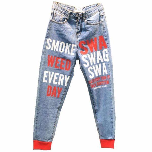 הדפסה על ג'ינסים