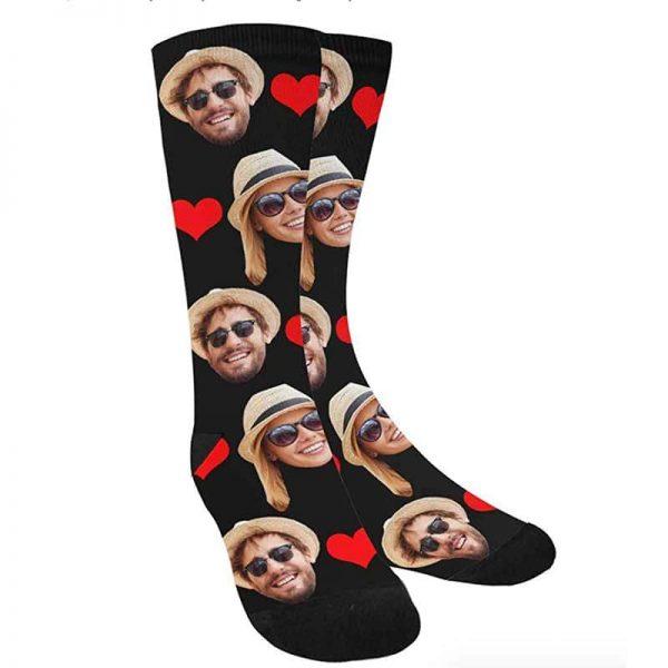 גרביים Love שחורות