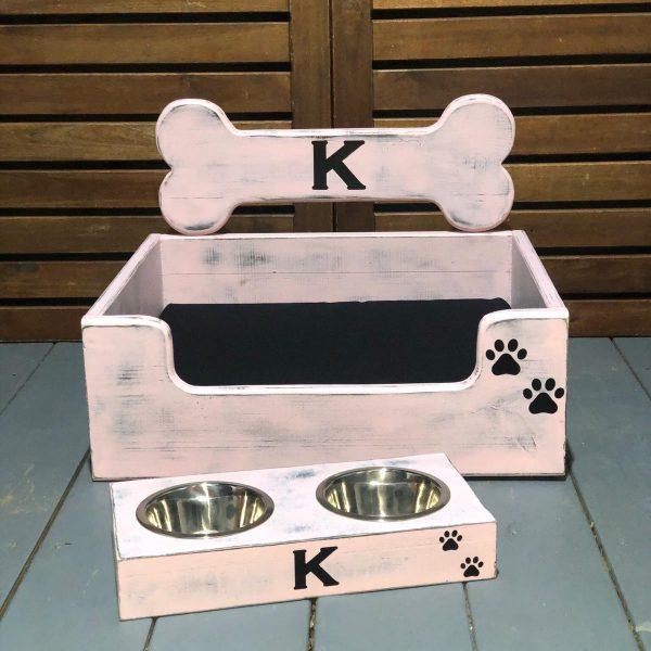 כלי אוכל לכלב מעוצב בהתאמה אישית (מידה סמול)