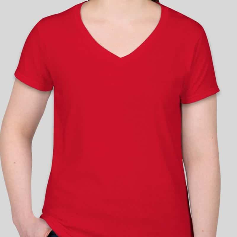 חולצת נשים אדומה