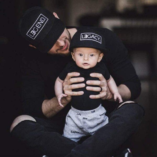 כובעים לאבא ולילד