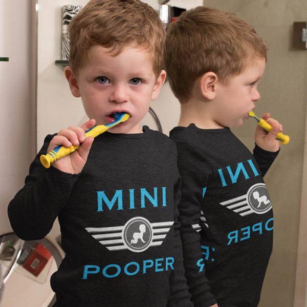 אוברול לתינוק Mini Pooper