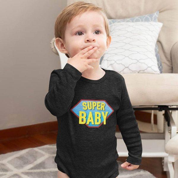 אוברול לתינוק Super Baby