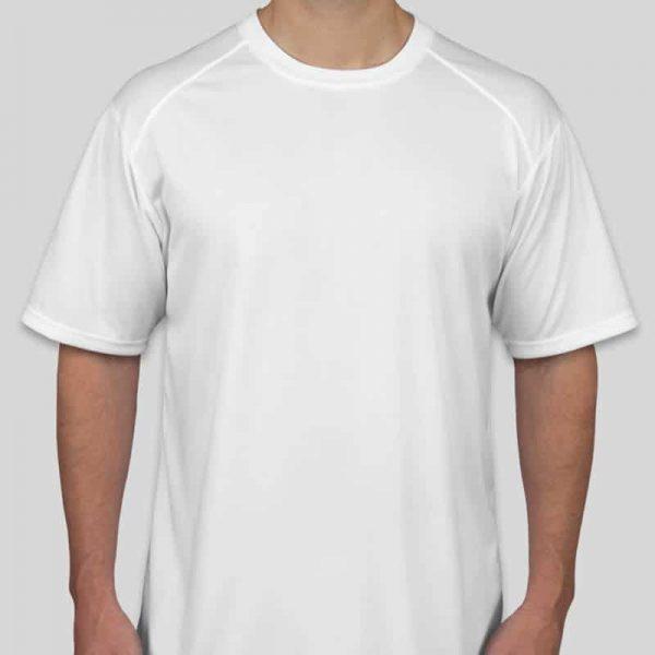 חולצת דרייפיט בצבע לבן גזרת גברים [מותג Box]