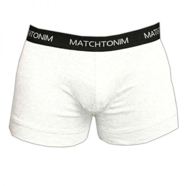 """בוקסר לבן """"מאצ'תונים"""" בהתאמה אישית [מותג – Delta]"""