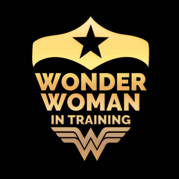 """חולצה מודפסת לאשה """"WonderWoman"""""""