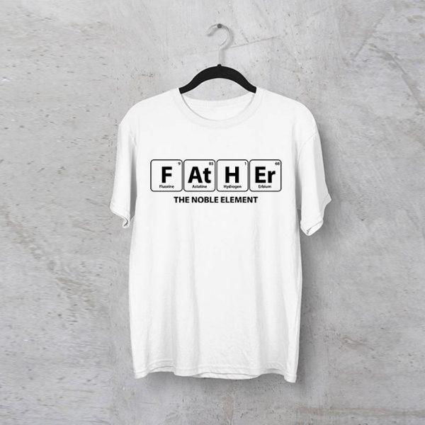 """חולצה מודפסת לגבר """"Father"""""""