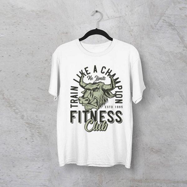 """חולצה מודפסת לגבר """"Champion"""""""