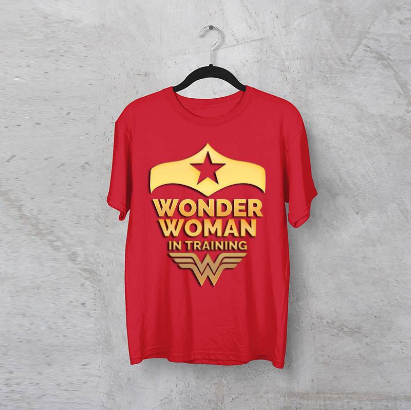 חולצה לאשה wonderwoman