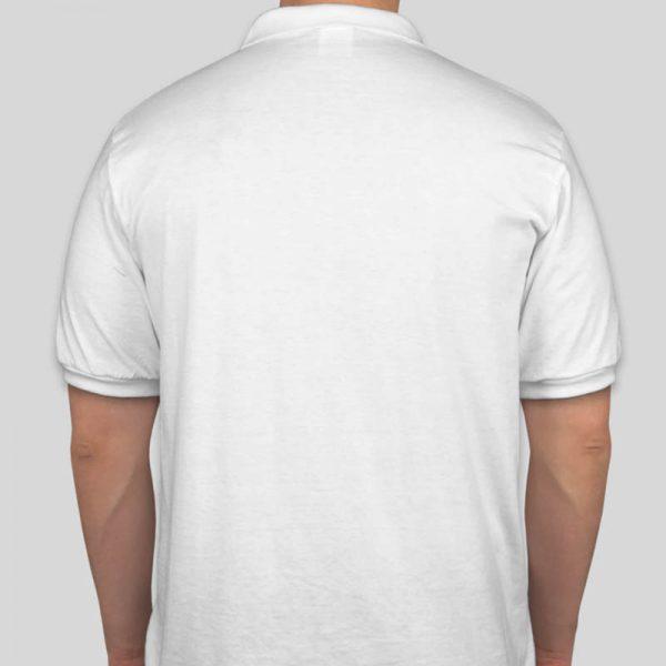 חולצת פולו בצבע לבן גזרת גברים [מותג Tagos]