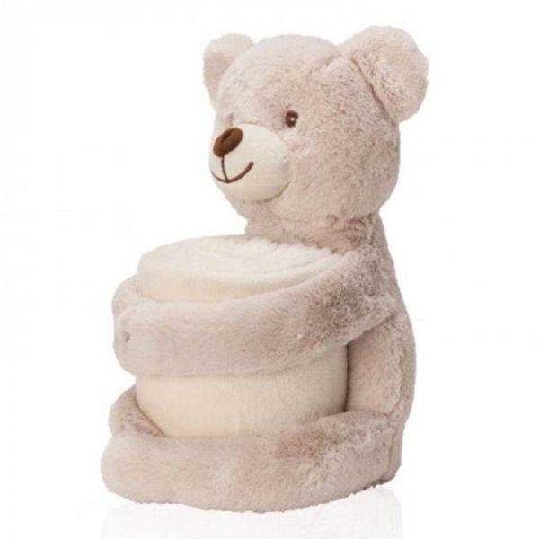 דובי עם שמיכה להדפסה