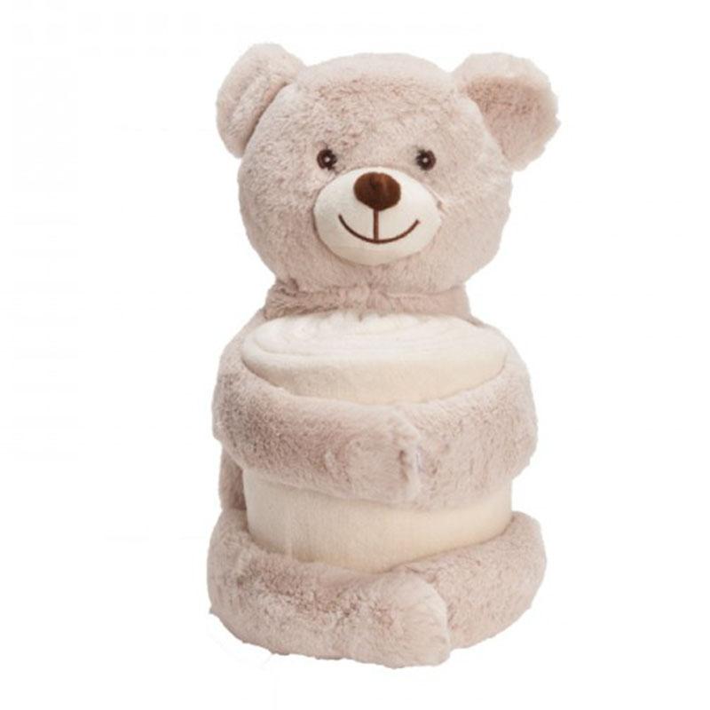 דובי עם שמיכה
