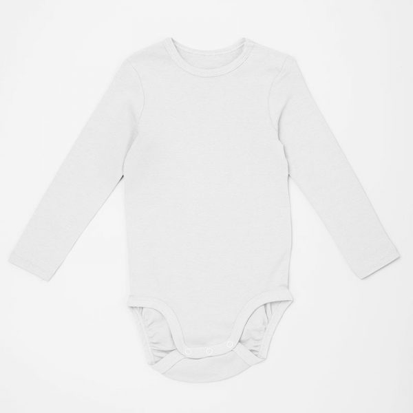 הדפסה על בגד תינוק שרוול ארוך בעיצוב עצמי