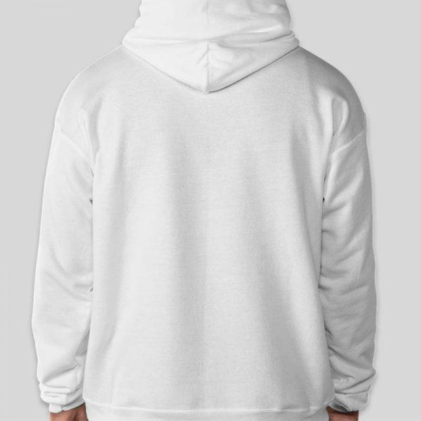 קפוצון קנגרו לבן בעיצוב עצמי [מותג T-Wear]
